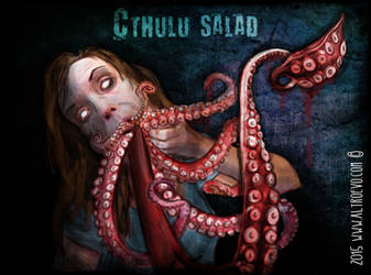 Cthulu Salad by AltroEvo