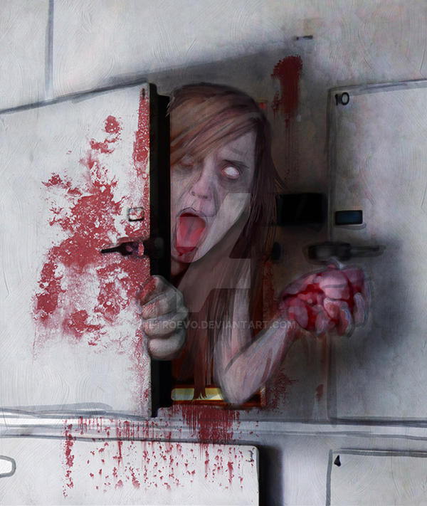 Zombie wakening in the Morgue