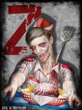 Fast Food Zombie
