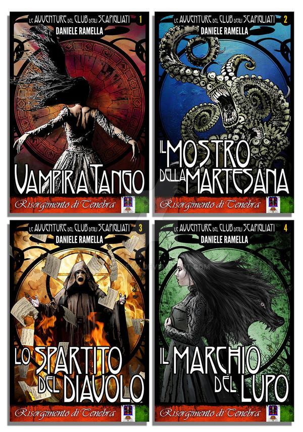 Book Design for a Historical Horror book series by AltroEvo