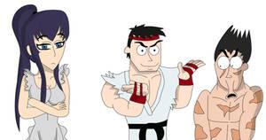 Sakeo Ryu and Kazuya