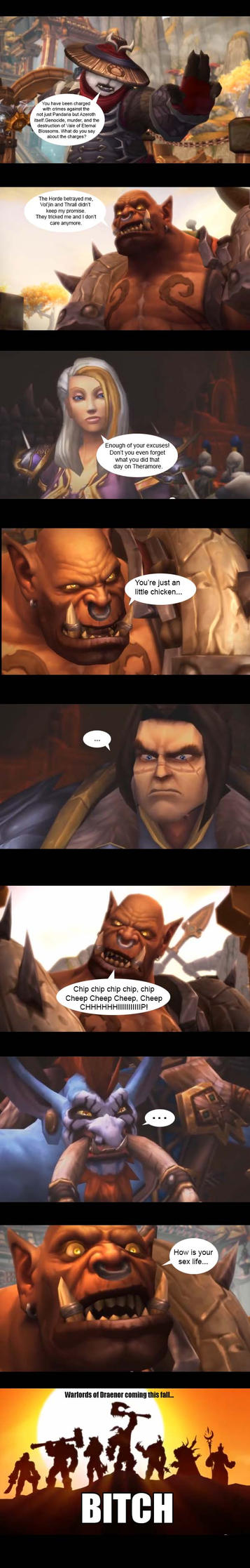 World of Warcraft Screencap Comic by alienhominid2000