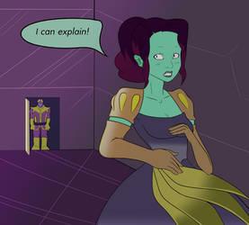 Gamora as Disney Princess