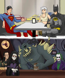 God and Monster: How It Should Have Ended by alienhominid2000