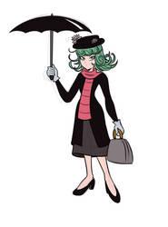 Tatsumaki Poppins by alienhominid2000