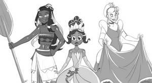 Disney Princess - Nessa Bumblebee Jaina