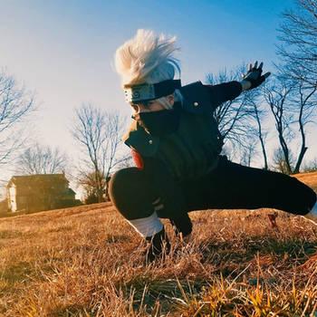 Kakashi Hatake The copycat ninja by Yatakunn