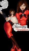 Viscountess Vermillion