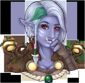 Mysterious Magic Zarese__troll_druid_by_caitlincaitiecait-d3inztx