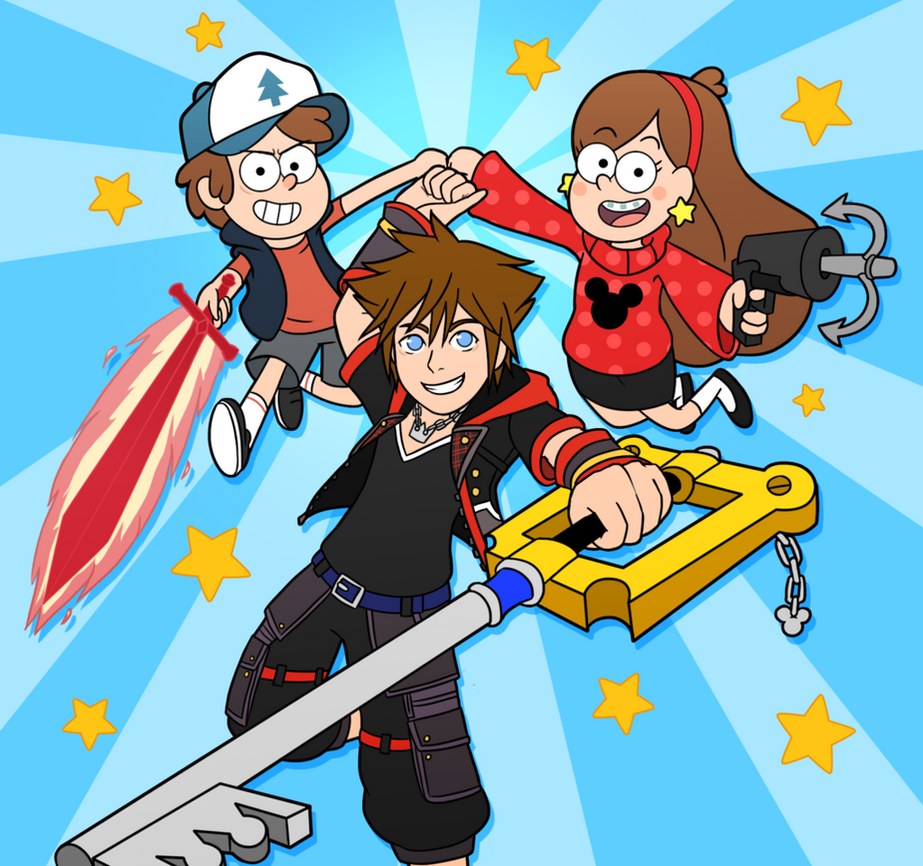Kingdom Hearts Iii Welcome To Gravity Falls Ch 1 By