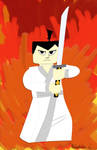Lego Samurai Jack for Dimensions by Zaidan