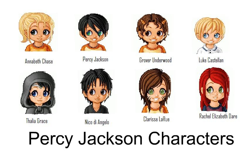 List Of Percy Jackson And The Olympians Characters | Autos ...