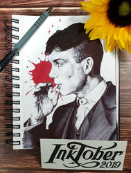 Inktober 2019 Day 1 : Tommy Shelby