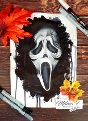 Inktober 2020 day  01 - Scream