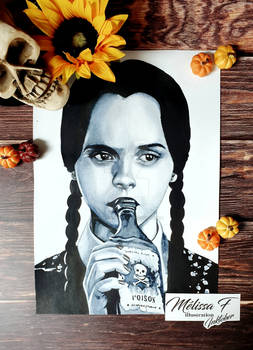 Inktober 2020 day 06 - The Addams Family Values