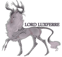 Lord Luxferre | Stag | Glenmorian Royal by HaniHunni