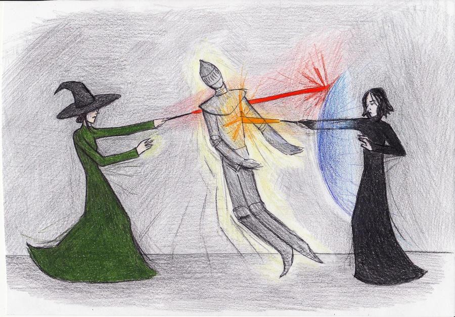 Professor Snape vs Professor Mcgonagall Snape And Mcgonagall Duel by