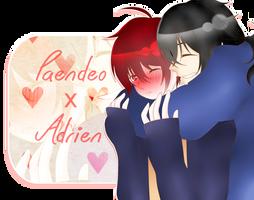 [Shibuya][SS] Paendeo X Adrien - Hug~ by Bakangiie