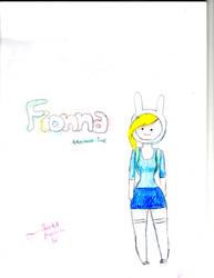 Adventure Time:Fionna by ScarletAquarian12