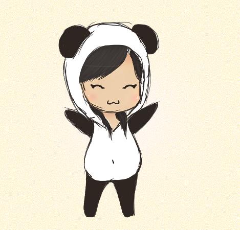 Chibi Panda By NnjaPanda