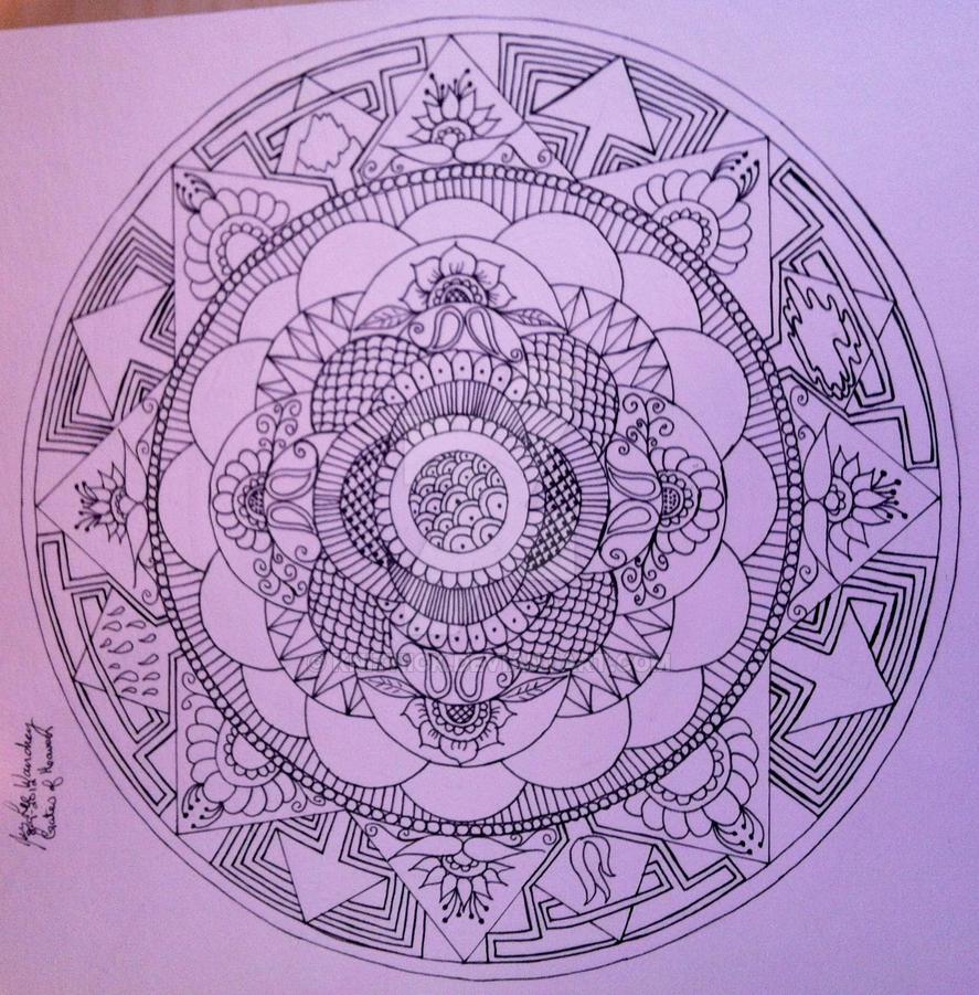 Gates of Heaven Sketch Gates of Heaven Mandala Photo