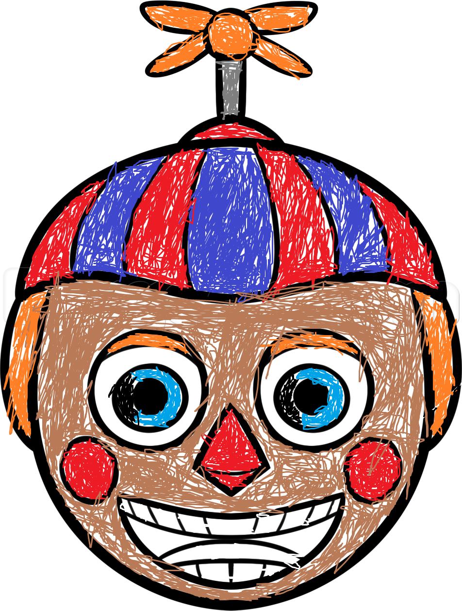 Fnaf 2 Balloon Boy Drawing By Halocooldude On Deviantart