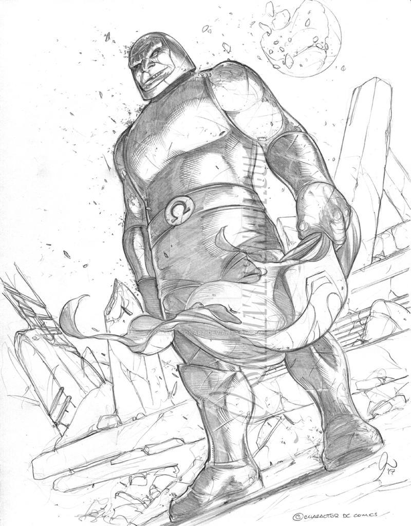 Darkseid 001 Small by mikewilsonart