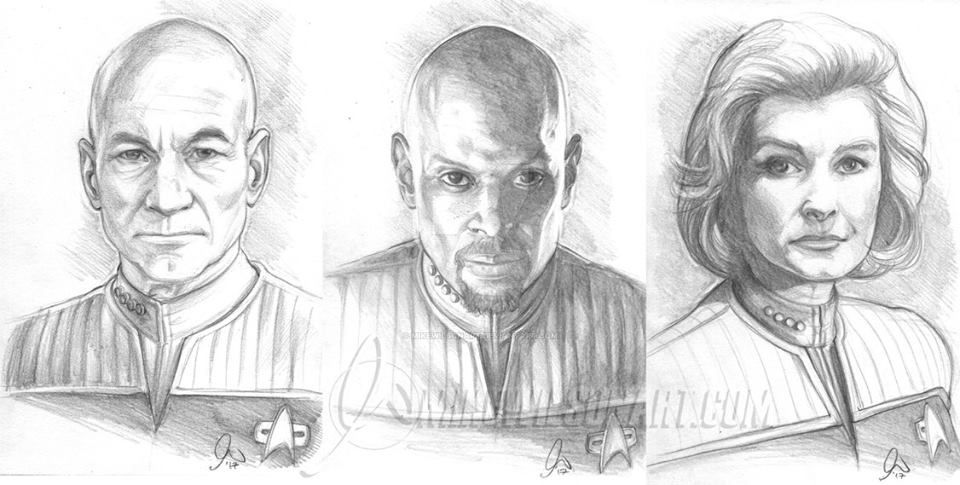 Star Trek 1001 by mikewilsonart