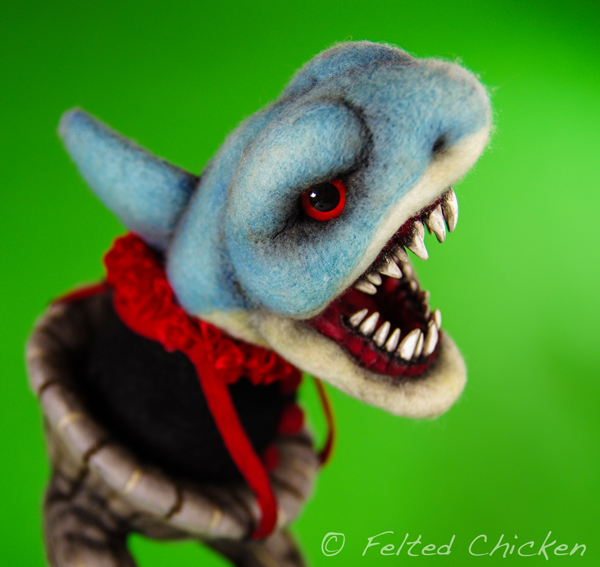 Shark Clown - Available by *FeltedChicken
