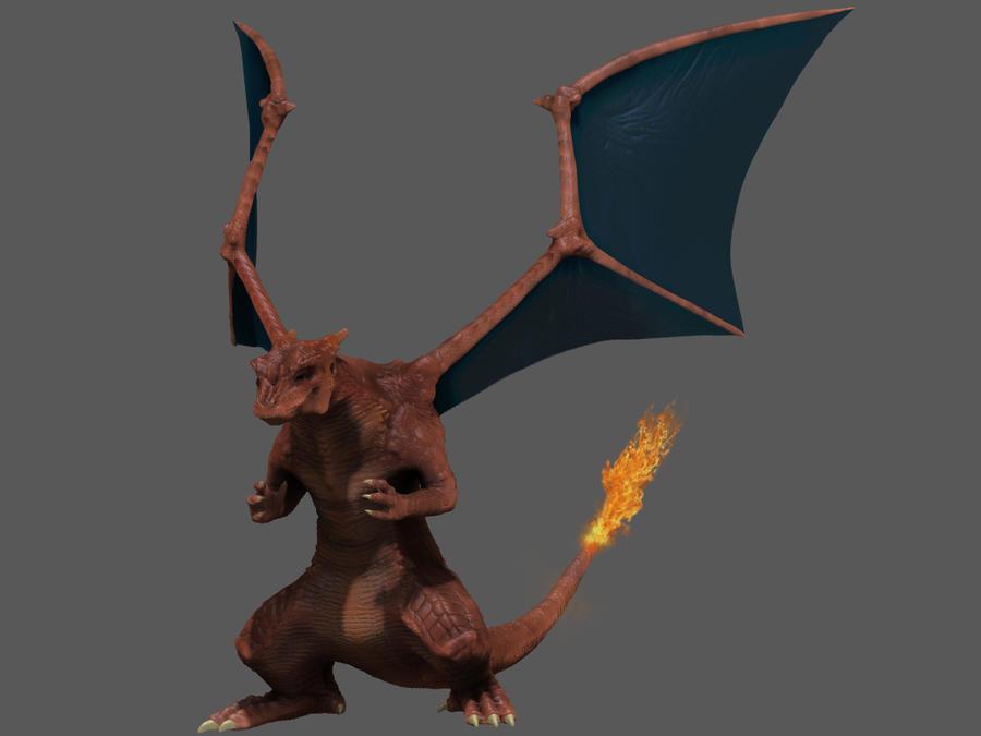view original image  Realistic Pokemon Charizard