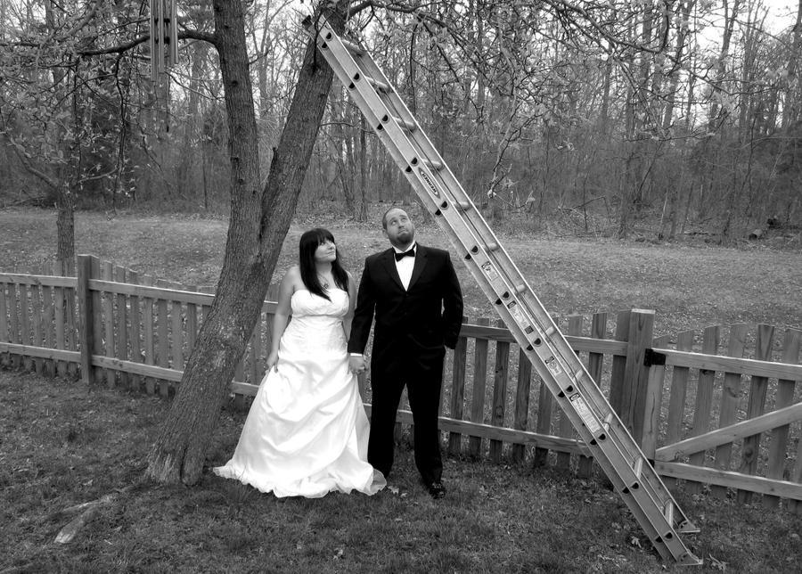 under the ladder by drainingraven