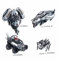 SR drones by Renlof