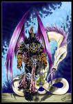 Achileus the angel of Chaos, champion of Slaanesh