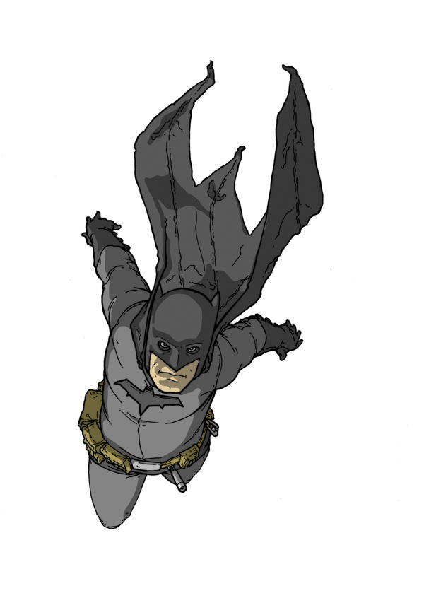 Badass Batman Illustrations