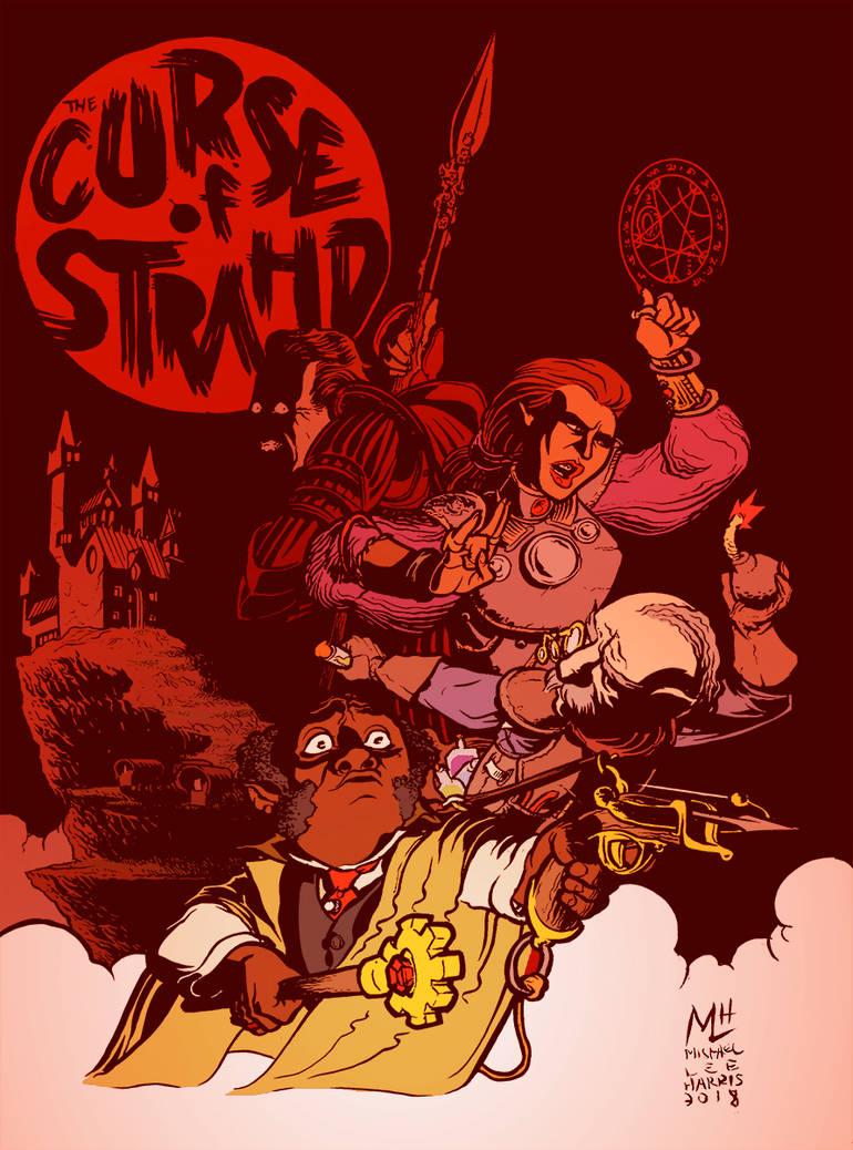 The Curse of Strahd by michaelharris