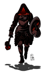 Death Cleric Token by michaelharris
