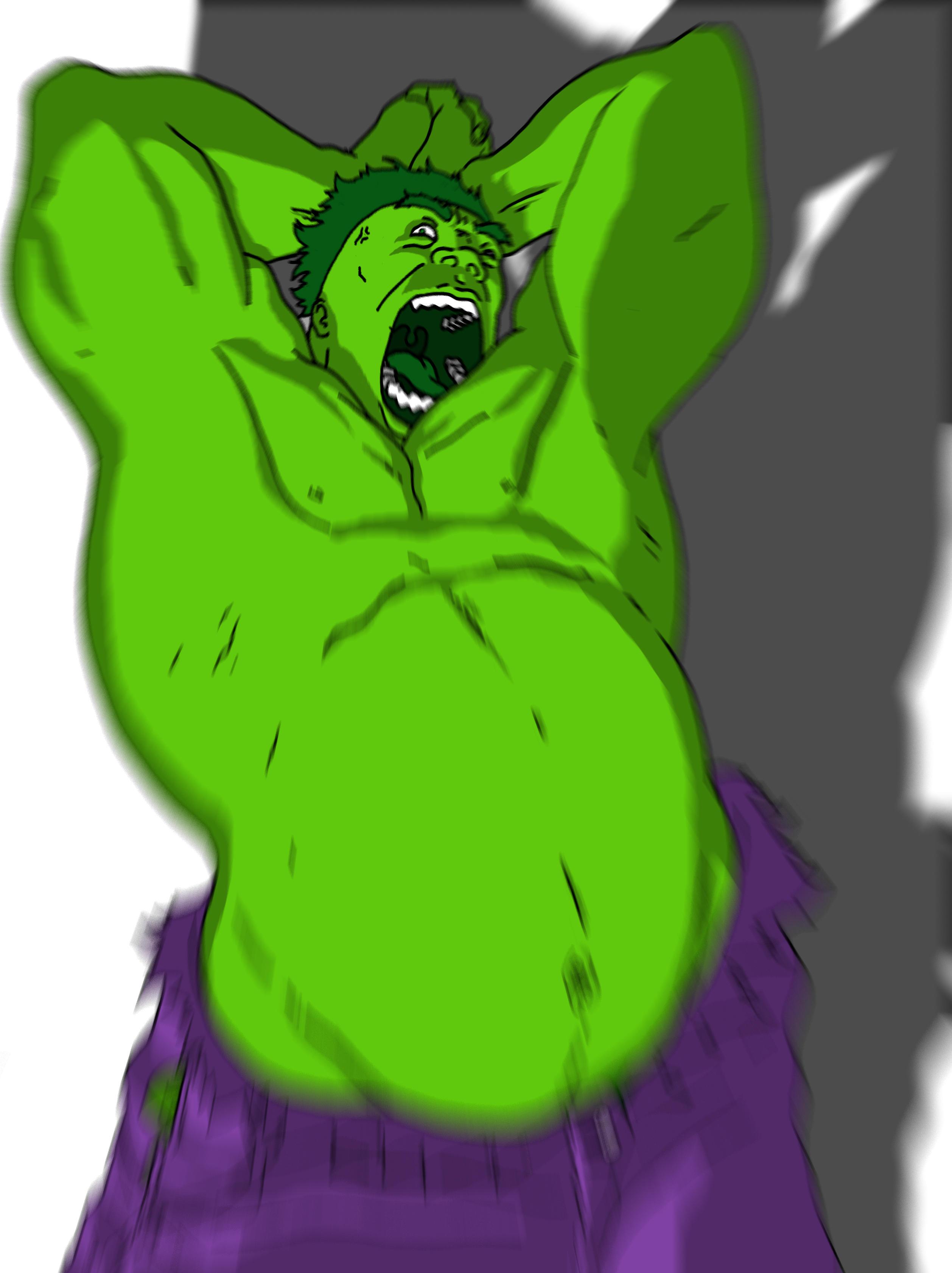 Cat Hulk Meme