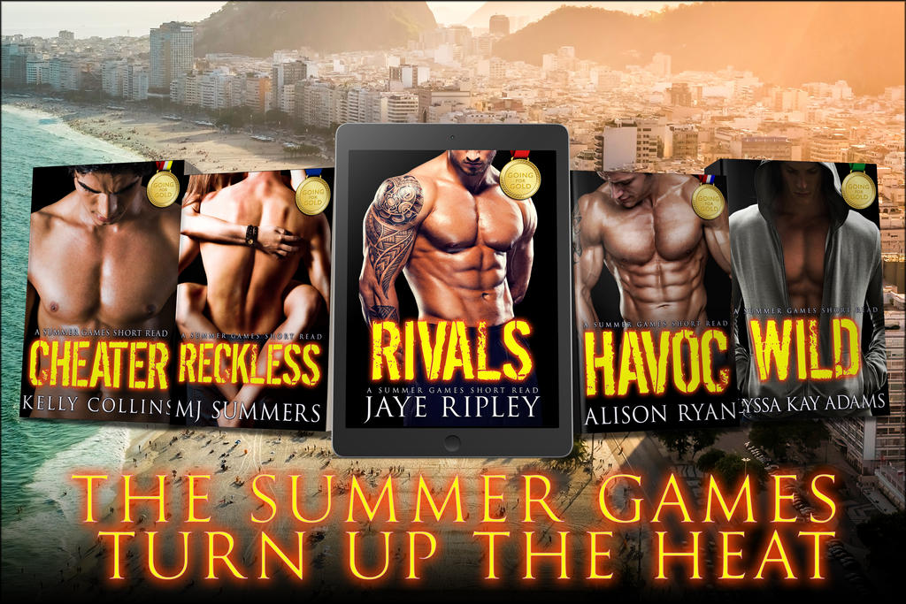 Going for Gold - series covers ad by JacquelineSweet