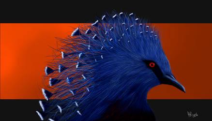 Crowned Victoria Pigeon