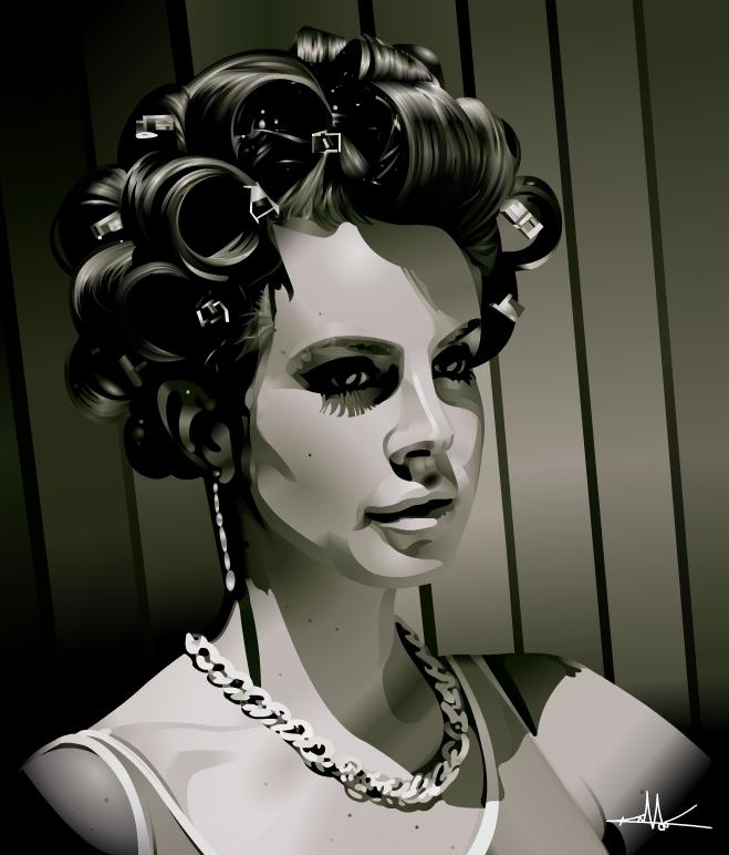 Lana Del Rey by nkunited