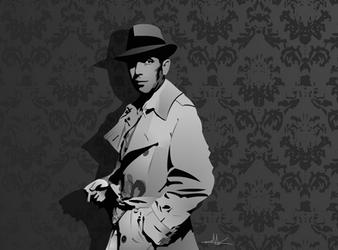 Humphrey Bogart by nkunited