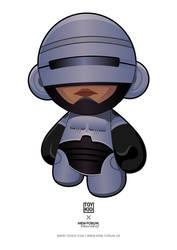 RoboCop Munny by nkunited