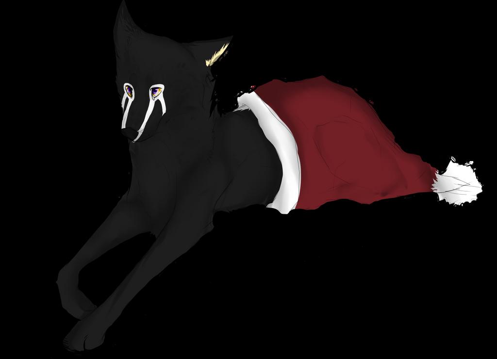 I stole Santa's hat by Nomeruu