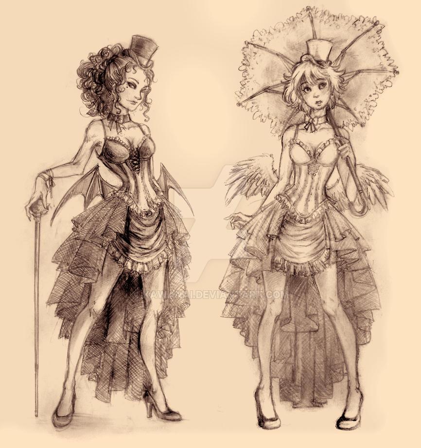 Angel-Demon, Cosplay Project 2 by Kawanai