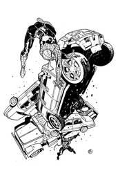 Spiderman Vs. Venom by DavideGianfelice