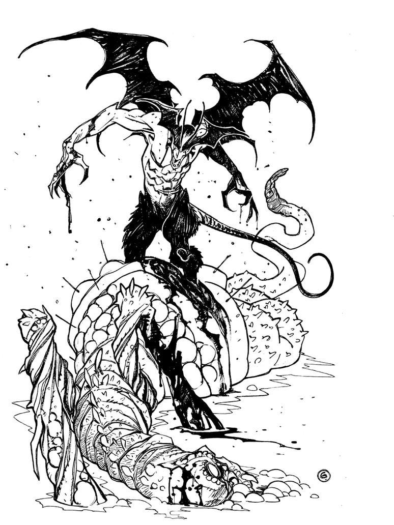 Devilman by DavideGianfelice