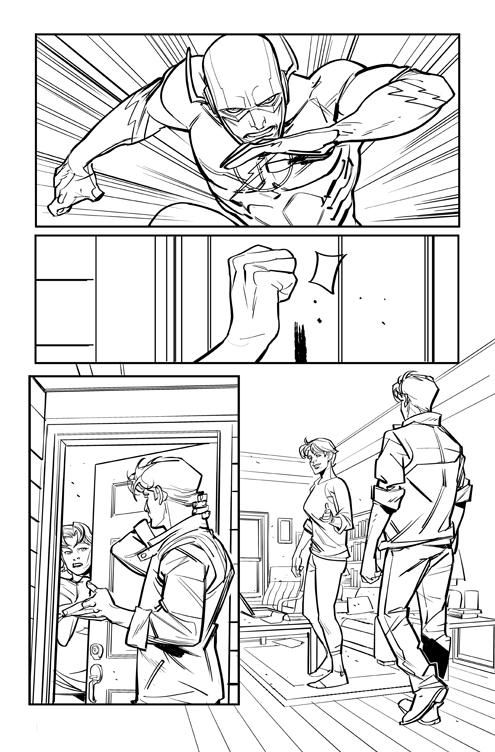 Flash #11 Ink 04 by DavideGianfelice
