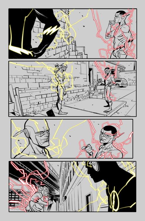 Flash #12 Ink 01 by DavideGianfelice