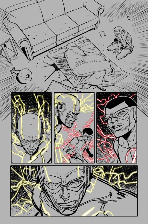 Flash #12 Ink 08 by DavideGianfelice