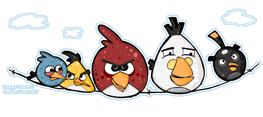 Angry Birds by happy-loner